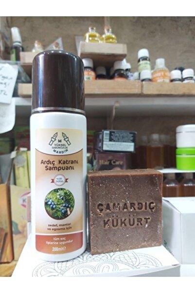 ASKA Doğal Ardıç Katranı Şampuan (200 Ml) + Çam Ardıç Kükürt Sabunu (120 Gr)