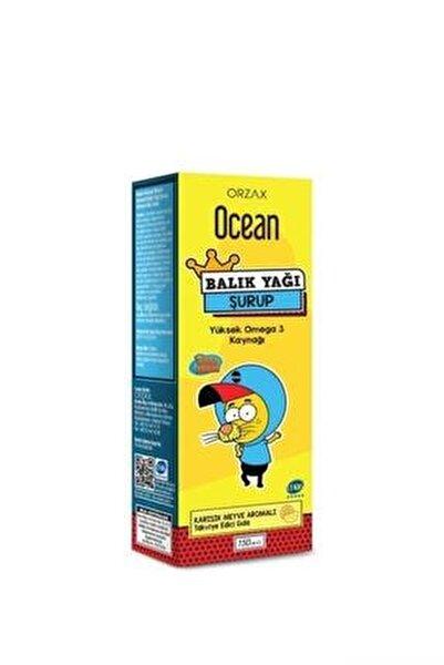 Ocean Omega 3 Karışık Meyveli Balık Yağı Şurubu Kral Şakir 150 ml