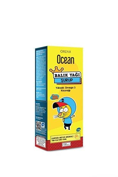 Orzax Ocean Omega 3 Karışık Meyveli Balık Yağı Şurubu Kral Şakir 150 ml