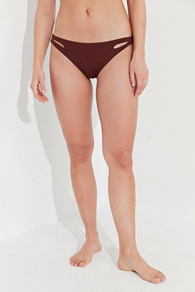 Penti Kadın  Kahverengi Arty Side Bikini Altı