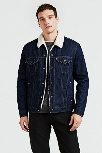 Levi's Kürklü Erkek Jeans Mont