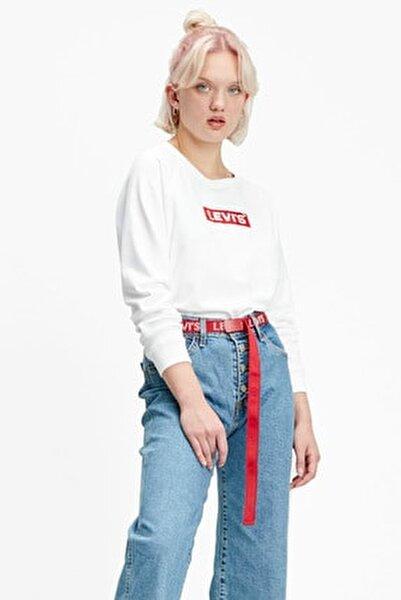 Kadın Relaxed Graphic Sweatshirt 29717-0092