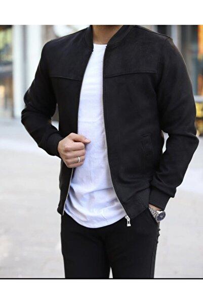 ukdwear Erkek Siyah Süet Ceket