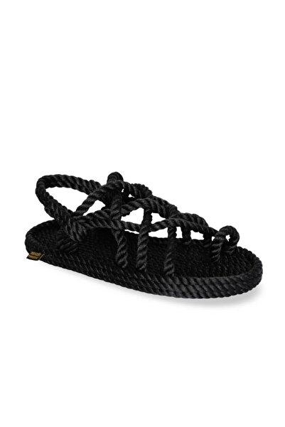 Nomadic Republic Nomadic Kadın Halat Sandalet - Siyah