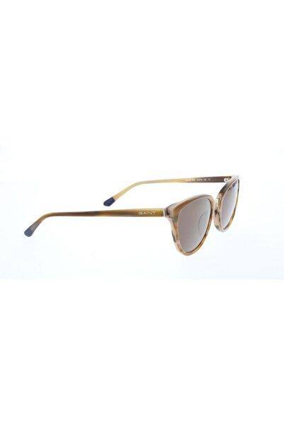 Gant Kadın Kahverengi Cat Eye Güneş Gözlüğü GNT 8069 62E