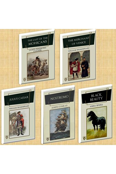 Dorlion Yayınevi Ingilizce Roman 5 Kitap Set 2
