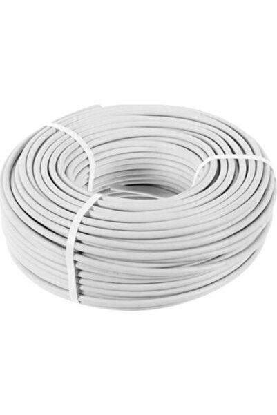 PROICH 3x2,5 Ttr 100 Metre Çok Telli Beyaz Renk Izalasyonlu Topraklı Seyyar Elektrik Kablosu