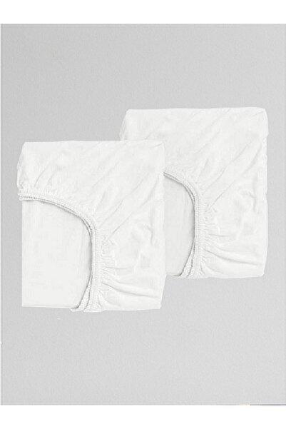 MOTHERCARE -Beyaz Bebek Karyola Çarşafı 70x140