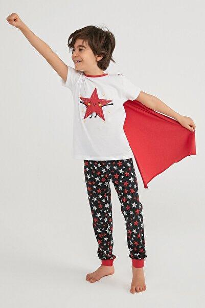 Penti Erkek Çocuk Çok Renkli Boys Stars Ss Pijama Takımı 2li