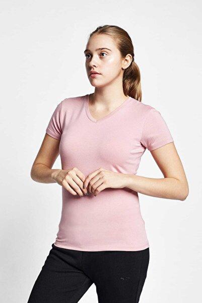 Lescon Kadın T-Shirt 19S-2202-19B - 19STBB002202-B23