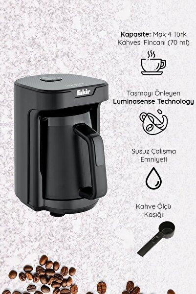 Fakir Kaave Mono Otomatik Türk Kahve Makinesi Siyah