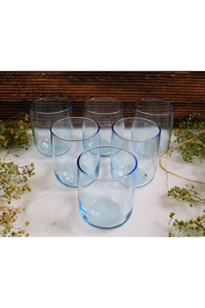 Paşabahçe 420112 Iconic Su Bardağı Turkuaz Renk 6lı