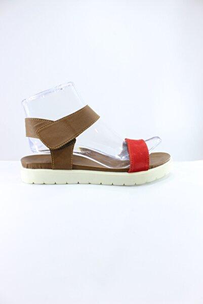 İnci Deri Kadın Sandalet