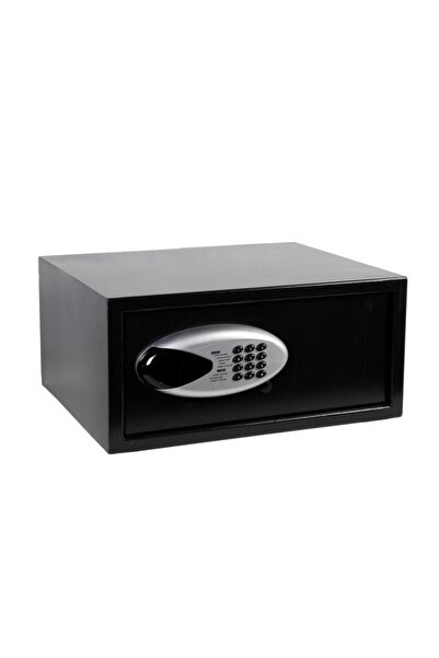 QSAFE Pro Max Lcd Motorlu-hafızalı - Otomatik Kilitli- Çelik - Dijital- Laptop Tipi- Otel–ofis–ev Kasası