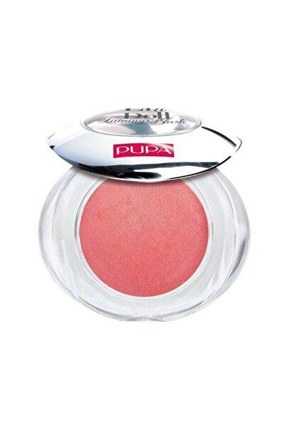 Pupa Milano Allık - Like a Doll Luminys Blush Gold Desert Pink 8011607192311