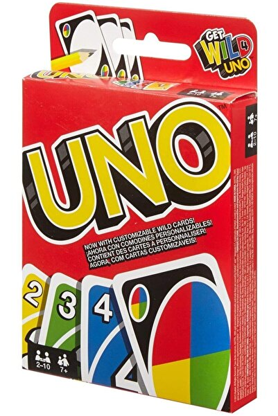 Elif İş Eğitim Yüksek Kaliteli Uno Oyun Kartları Uno Kart Oyunu 108 Kart Uno Kartlar