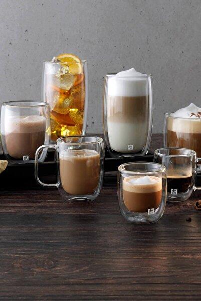 ZWILLING Çift Camlı Kulplu 2'li Latte Macchiato Bardak Seti 39500-114-0