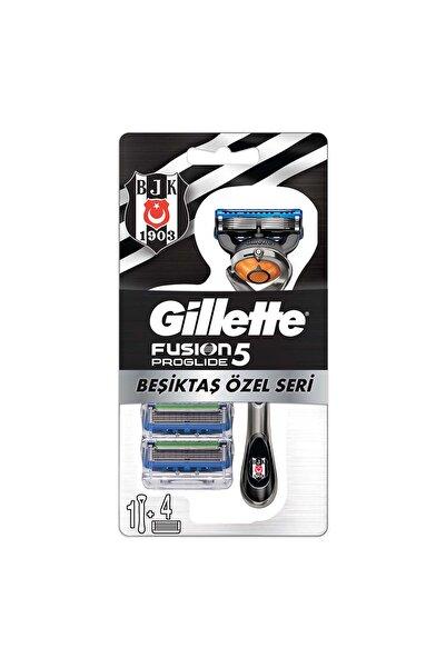 Gillette Fusion Proglide Makine + 3'lü Yedek Bıçak Beşiktaş Özel Seri