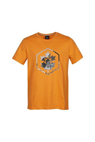 lumberjack Erkek Turuncu Colored Logo T-shır T-shirt Ct636