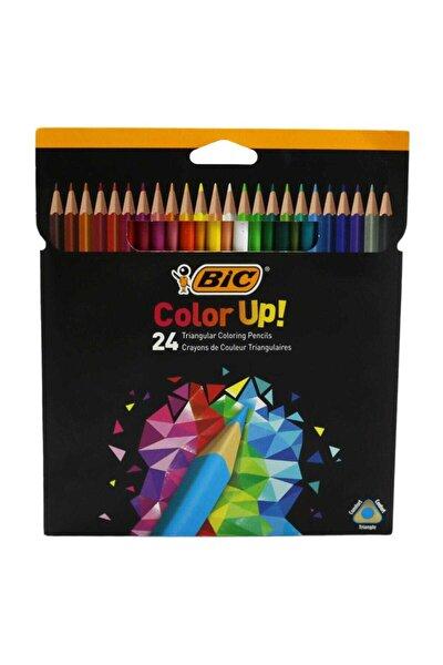 Bic Color Up Üçgen Kuru Boya Kalemi 24 Lü Kutu 950528