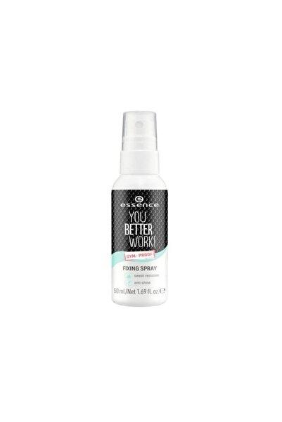 Essence Makyaj Sabitleyici Sprey You Better Work Fixing Spray 50 ml