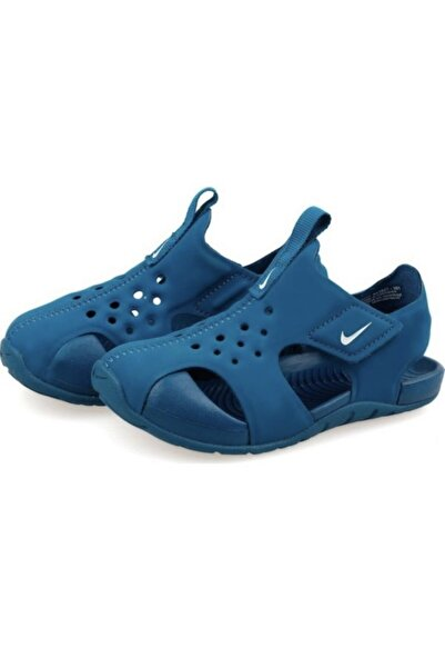 Nike Kids Mavi 943827-401 Sunray Protect Bebek Sandalet