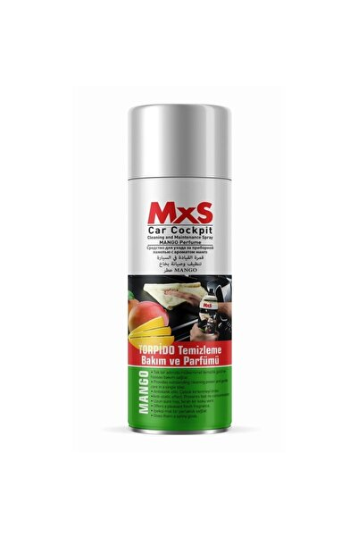 MxS Torpido Temizleme Bakım Ve Parfümü - Mango Kokulu  220 ml