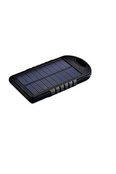 BLUE İNTER Solar Güneş Enerjili Powerbank 15000 Mah Şarj Aleti Led Işıklı