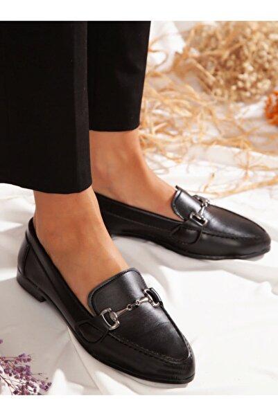 ayakkabıhavuzu Kadın Siyah Ayakkabı