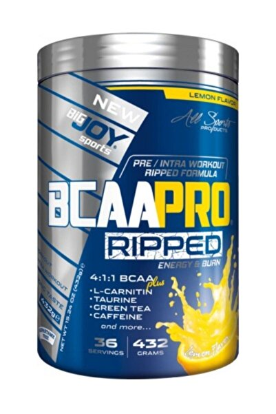 Big Joy Bcaa Pro 4:1:1 Ripped 432 gr - Limon Aroma -