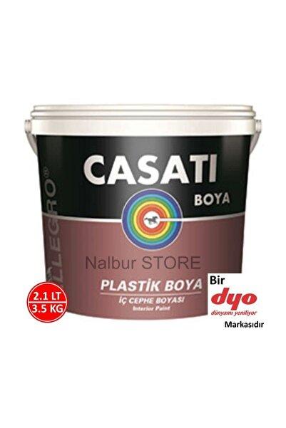 Casati Casatı Allegro Su Bazlı Iç Cephe Duvar Boyası 2.1lt=3.5kg-casatı Boya Bir Dyo Boya Markasıdır