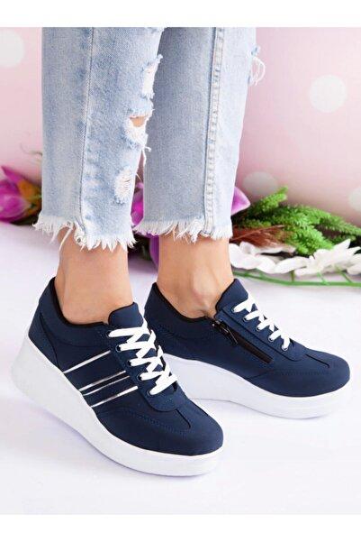 ayakkabıhavuzu Kadın Lacivert Spor Ayakkabı