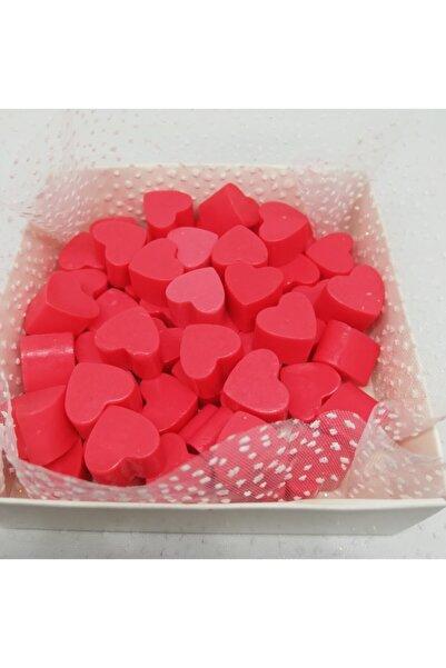 Dolce Sabun - Kokulu Süs Sabunu - Kalp 55 Adet Kırmızı