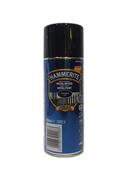 Marshall Hammerite Direkt Pas Üstü Pürüzsüz Metal Boyası Sprey Siyah 400 ML