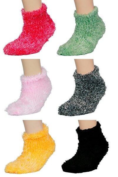 FandD 6'lı Peluş Uyku Çorabı