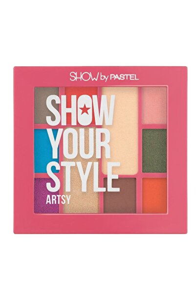 Pastel Show Your Style Eyeshadow Set Artsy No 462 Far Paleti  8690644104626