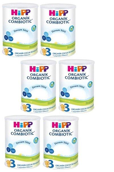 Hipp Organik Combiotic Devam Sütü 3 Numara 350 gr x 6 Adet