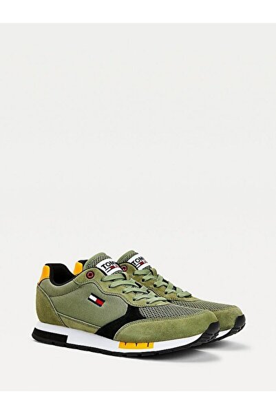 Tommy Hilfiger Tommy Denims Retro Runner Mıx Sneaker