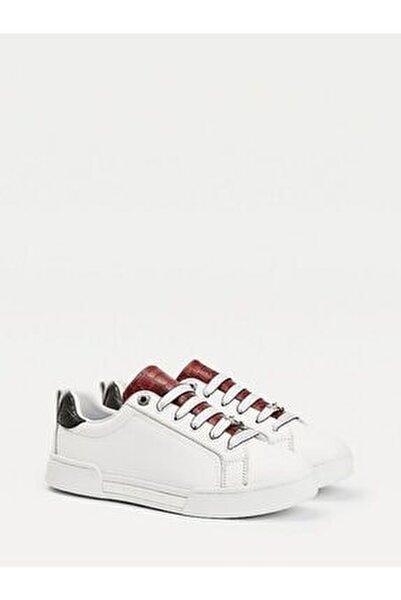 Branded Outsole Croc Sneaker