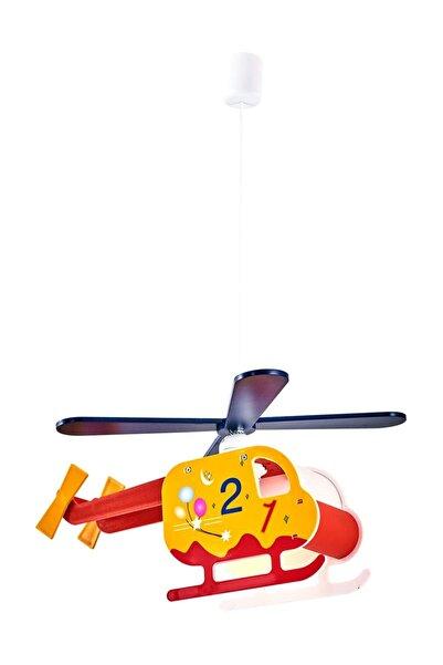 Özcan Aydınlatma Helikopter 4 Pervaneli Sarkıt Çocuk Odası