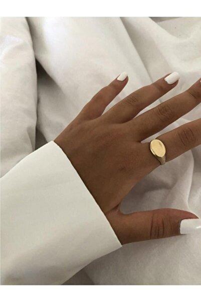 Chance Accessories Kadın Altın Yatay Şövalye Yüzük