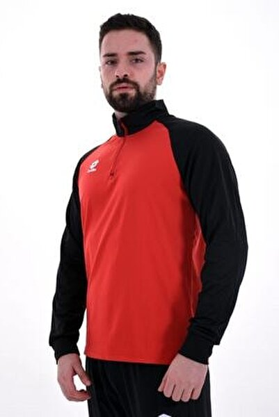 Erkek Kırmızı Siyah Eşofman R8976