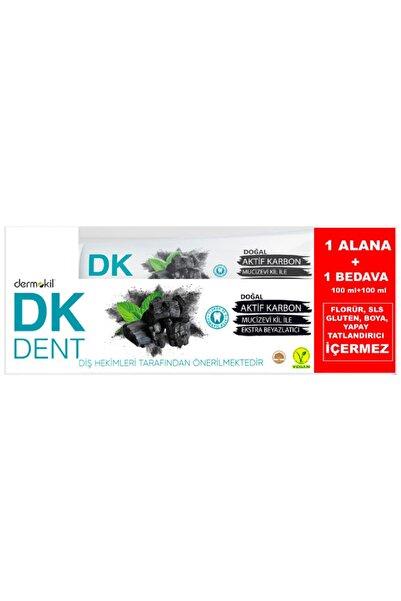 Dermokil Dk Dent Aktif Karbon Diş Macunu 100 Ml + 100 Ml