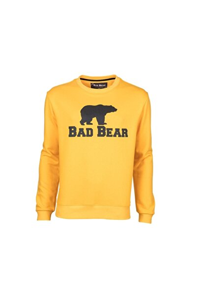 Bad Bear Crewneck Erkek Sweatshirt 20.02.12.011-mustard