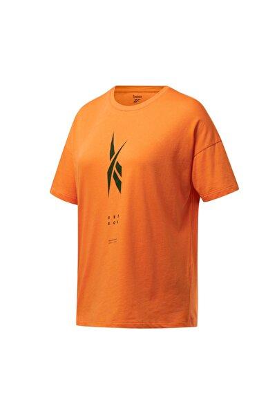 Reebok Fu2048-k Ts Edgewrks Gr Tee Kadın T-shirt Turuncu