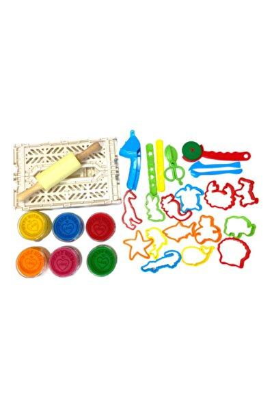 ChildGen Play Dough Doğal Oyun Hamuru Büyük Set
