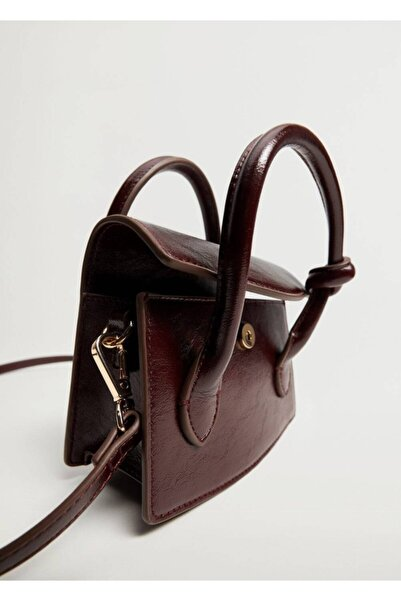 MANGO Woman Düğüm Detaylı Mini Çanta