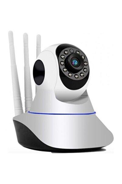 BLUE İNTER Gece Görüşlü Hd 360 Derece Wifi Ip Bebek Kamerası