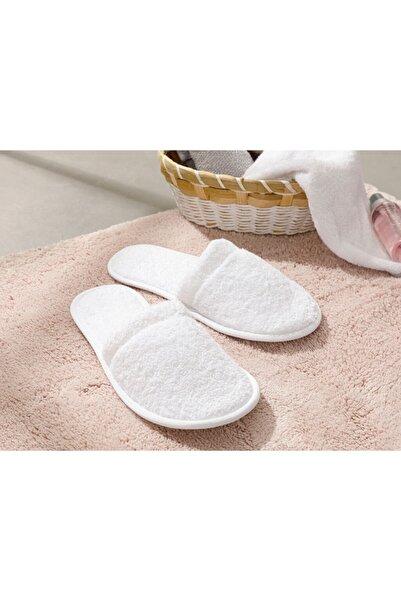 English Home Kadın Beyaz Simple Pamuklu Banyo Terliği 36-40