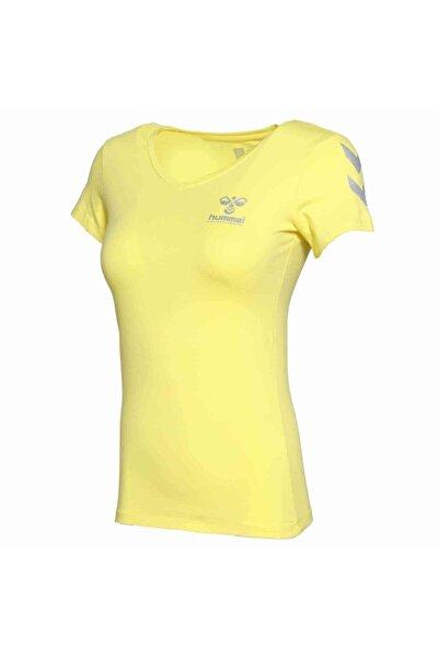 HUMMEL Kadın Sarı Kısa Kollu T-Shirt